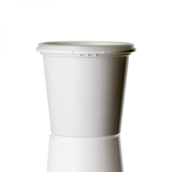 380ML white tub Medium